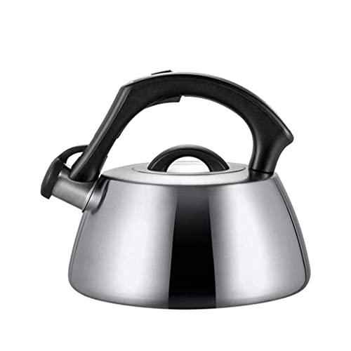 Intelligente Roestvrijstalen Fluitketel Gasketel voor Inductie Kookplaten Gas Keramische Keuken Camping Kookplaat Waterkokers