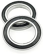 2PCS Hybrid 6803 Ceramic Bearing ABEC-1  6803-2RS 17x26x5mm Ball Bearing   61803 Bearing