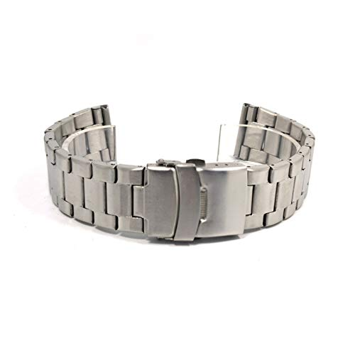 Home+ Watch Strap Venda de Acero Inoxidable del Reloj de 20mm 22mm...