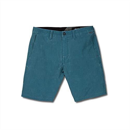 Volcom Men's Surf N Turf Faded 19' Hybrid Short