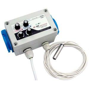 Hydrokultur-Lüfter und Temperatur- und Luftfeuchtigkeitskontrolle.
