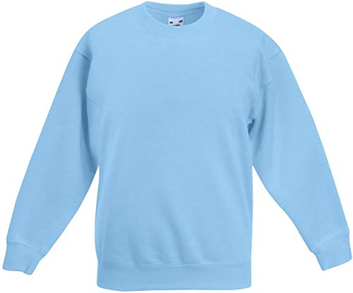 Ugsgdhgsdd Unisex Kids Set-in Classic Sweater,Sky Blue,5-6 Years