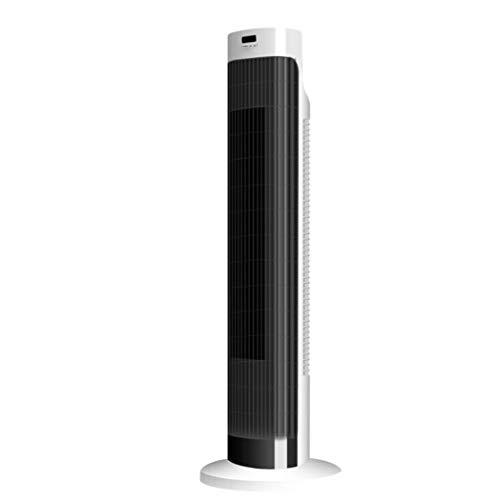 HAO staande oscillerende torenventilator met afstandsbediening, zonder lemmet, met 8 uur timer en led-display, koel voor kantoor thuis, mechanisch