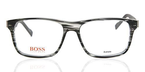 BOSS Orange Brillengestelle BO 0146 6SD Rechteckig Brillengestelle 54, Grau