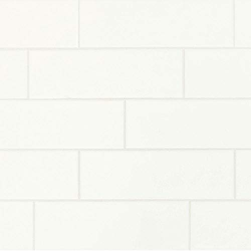 Restore Bright White 4 in. x 12 in. Glazed Ceramic Subway Wall Tile (10.64 sq. ft. / case)