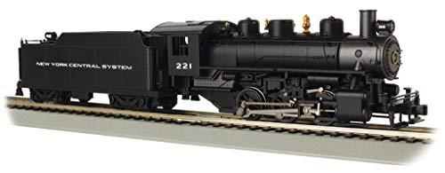 Bachmann Spur HO Dampflok 0-6-0 New York Central mit Rauch