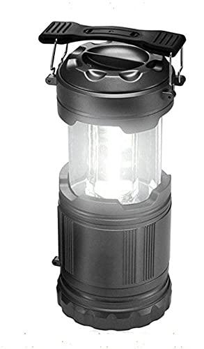 Lámpara LED portátil para camping, lámpara de trabajo LED ajustable con tipo colgante, recargable por USB.