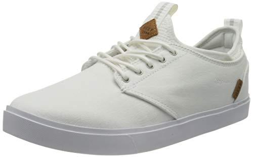 Reef Herren Discovery Sneaker, White, 44.5 EU