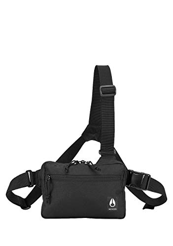 NIXON Bandit Bag - Black - Made with REPREVE Our Ocean and REPREVE recycled plastics.