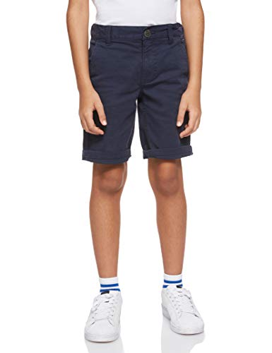 Tommy Hilfiger Steve Slim Tapered Shorts Aumbst Pantalones Cortos para Niños