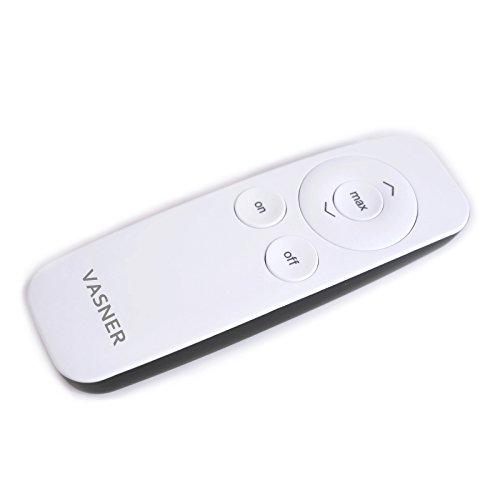 VASNER Infrarot-Heizstrahler Appino 20 weiß, App Steuerung, Fernbedienung, 2000 Watt, Terrassenstrahler elektrisch, Infrarotstrahler Terrasse außen, Bluetooth - 7