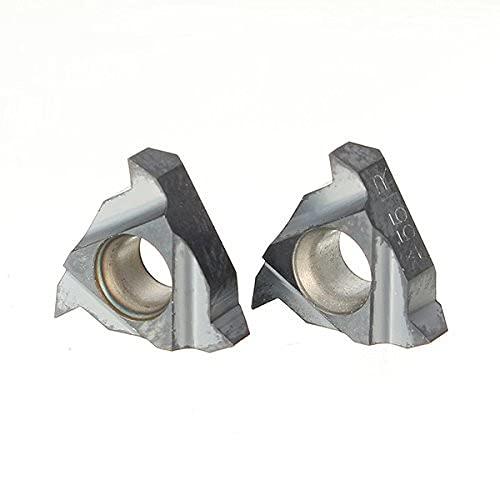 EsportsMJJ 2Pcs 11Ir A55 / 11Nr A55 Hartmetall Gewindeschneideinsätze Innendrehwerkzeughalter Einsätze