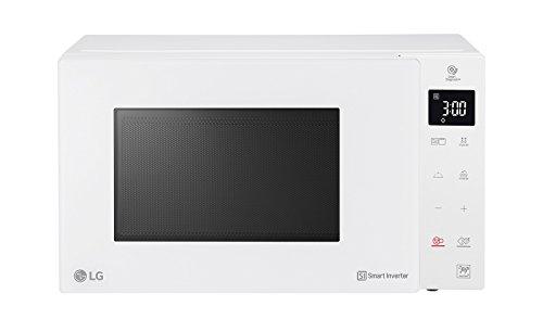 LG MH6336GIH Forno Microonde Smart Inverter con Grill al Quarzo, 23 Litri, 1150 W, Programmi Automatici, 5 Livelli di Potenza Regolabili - Bianco