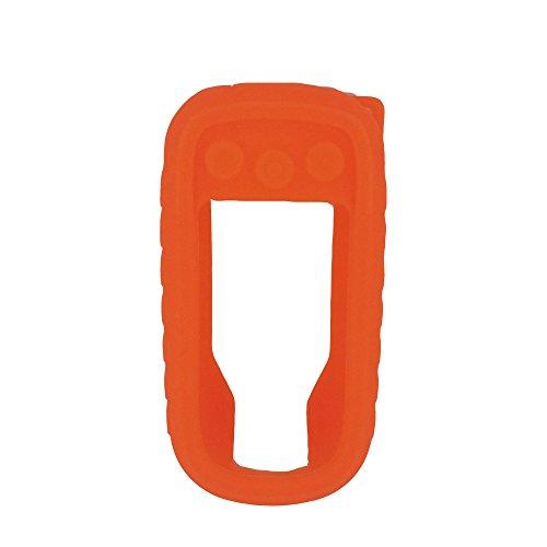 Coque en Silicone Compatible pour Garmin Alpha (Orange)