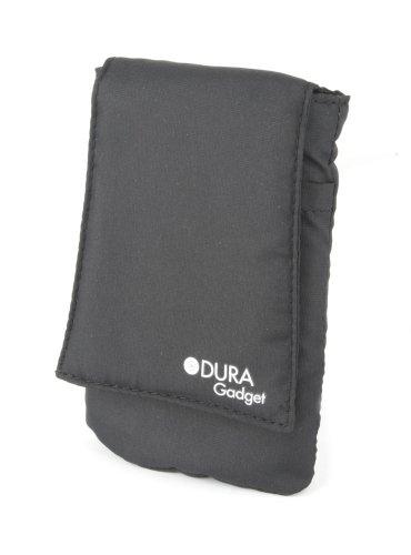 DURAGADGET Custodia Protettiva Nera Per Clementoni 14969 - Smartphone Touch & Play - Resistente All'Acqua! - Alta Qualità