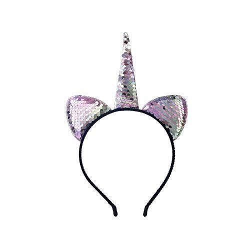 LWSHOP LYRStore886 Pailletten Meerjungfrau Stirnband Prinzessin Net Garn Shell Blume Tier Stirnband Party Spitze Haarschmuck Modisch und elegant, lässig und süß (Color : B7)