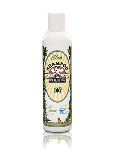 100% natürliches Chia Haar Shampoo - Bio, vegan & ideal für die tägliche Haarwäsche - Haarpflege Produkte für mehr Kraft, Glanz und Volumen - 200ml von Kastenbein & Bosch