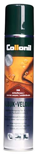 Collonil Nubuk + Velours 200 ml Schuhspray mittelbraun, 200 ml