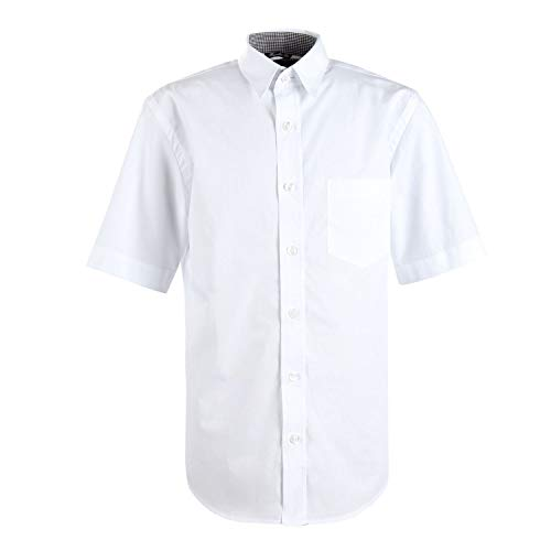 G.O.L. - Jungen festliches Hemd, Kurzarm, weiß - 5605000,Größe 170