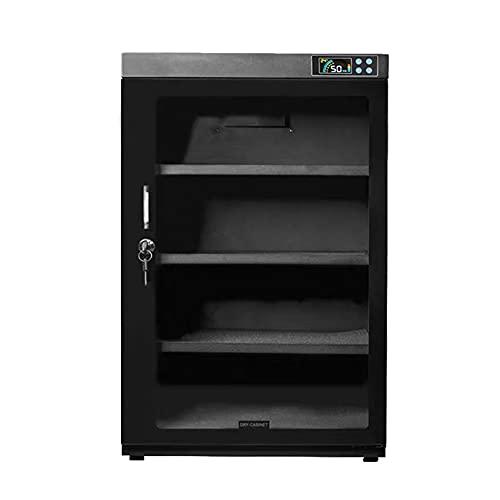 Armadio di asciugatura: armadio di deumidificazione della fotocamera da 55 litri, ripiano regolabile, conservazione a risparmio energetico della scatola elettronica a prova di umidità/B / 32x3