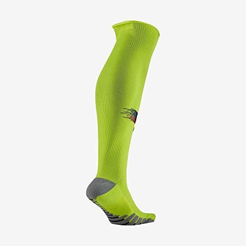 Nike FCB U NK STAD OTC AW Socks, Volt/deep royal Blue/Noble red, M