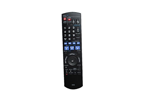 Hotsmtbang Replacement Remote Control For Panasonic DMR-EZ485VK DMR-EZ48V DMR-EZ48VK DMR-EZ28 DMR-EZ28K DMR-EA18 DVD Recorder Player