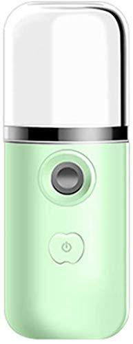 Anself niebla boquilla Nano F-cara de dejar la máquina herramienta hidratante Powered humidificador USB para utilizar el trabajo diario en el hogar de diseño portátil de mano de viaje,verde