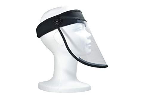 Pantalla protección facial. Visera transparente antivaho. Protector facial antivirus, ajustable, reutilizable, para hombre y mujer. Visera protectora cara.