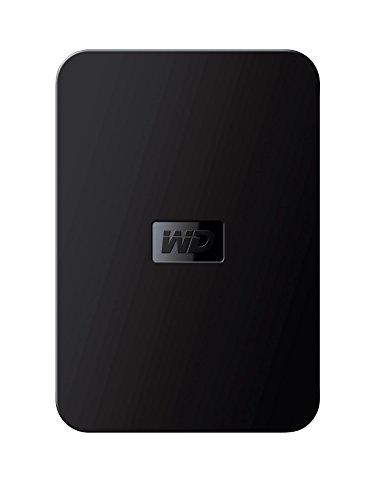 Western Digital Elements disco duro portátil de 1TB, color negro
