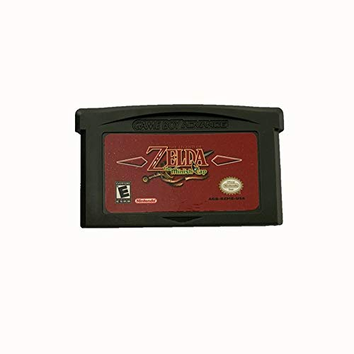 Legend of Zelda 2PCS Gameboy Advance Game The Minish Cap + Four Swords for GBA&GBASP&GBM&NDS,US Version(with Cartridge Protector Case)