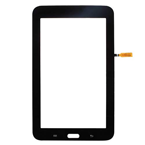 JIANGSHOUJIESPA Nuevo reemplazo Reemplazo de Pantalla táctil para Samsung Galaxy Tab 3 Lite Wi-Fi SM-T113 (Color : Black)