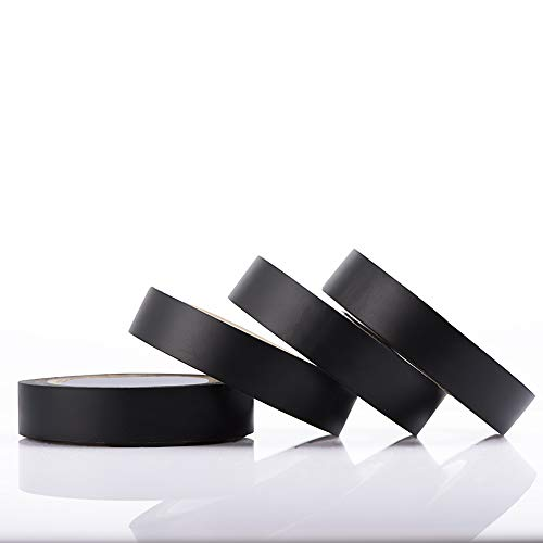 Black Electrical Tape, Waterproof and Flame Retardant, Electrical Tape...
