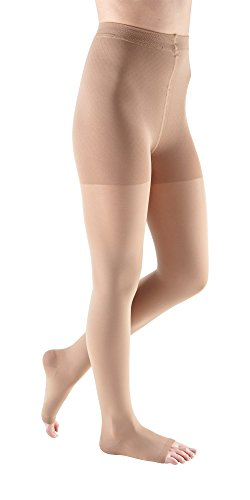 mediven Comfort, 15-20 mmHg, Compression Pantyhose, Open Toe