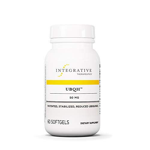 Integrative Therapeutics - UBQH 50 mg - Patented Stabilized Reduced Ubiquinol - Support Cellular Energy & Overall Health - 60 Softgels