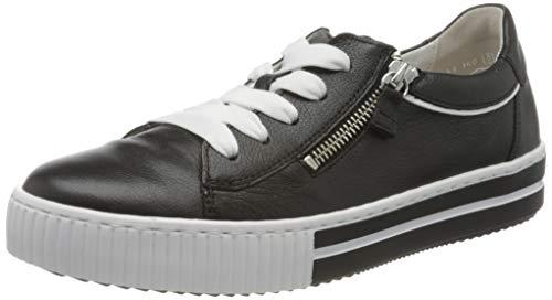 Gabor Shoes Damen Jollys Sneaker, Schwarz (Schwarz/Weiss 27), 39 EU