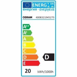 Lampe halogène OSRAM Halopin Eco 20 W G9