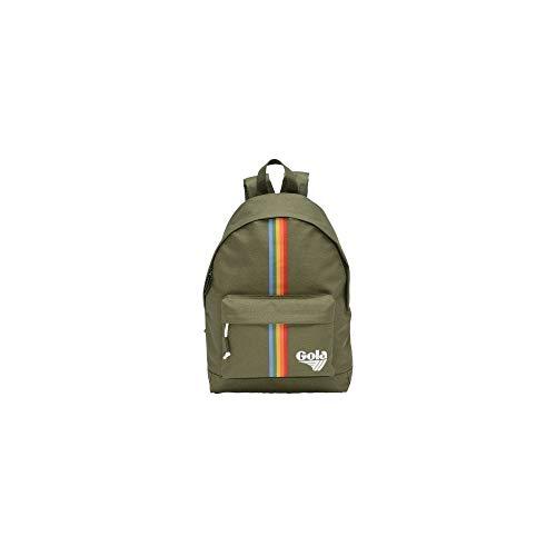 Gola Harlow Rainbow, Unisex-Erwachsene Rucksack, Grün (Khaki/Multi)