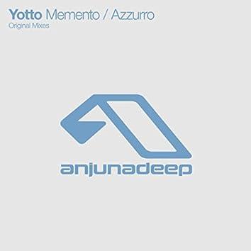 Memento / Azzurro