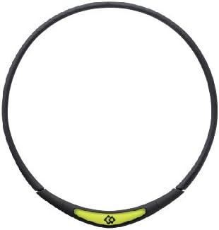 Trion:Z Colantotte Spasm price Flex Neck Magnetic Seattle Mall Yellow Me Necklace Black