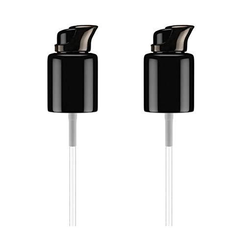 Glodorm 2PCS Replacement Foundation Pump For MAC Studio Fix Fluid Foundation(Black)
