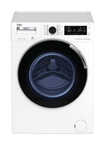 Beko WTZ121435BI lavatrice Libera installazione Caricamento frontale Bianco 12 kg 1400 Giri/min A+++