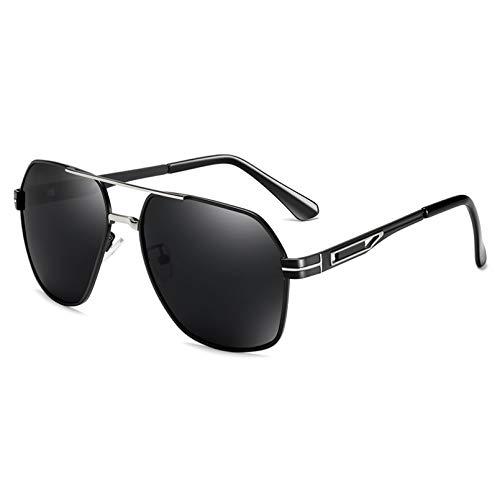 SXRAI Gafas de Sol para Hombre Gafas polarizadas Gafas de Sol Masculinas Conducción,C1