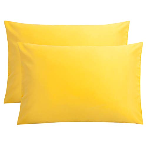 Best standard yellow pillowcases for 2020