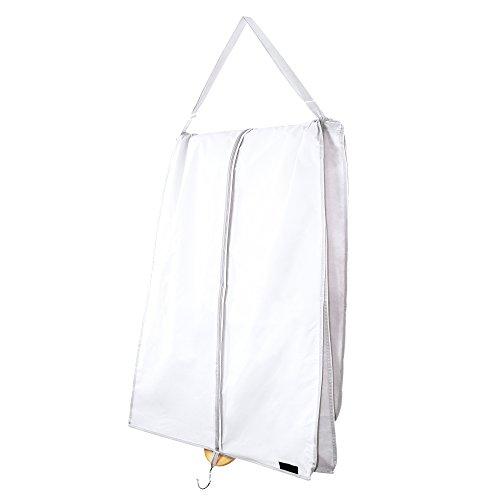 Hangerworld- Custodia Da Viaggio Per Abito Da Sposa (Colore Bianco)