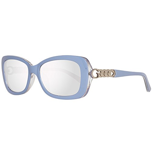 Guess Sun GU7453 90C-56-17-135 Gafas de sol, Azul (Blue), 56 para Mujer