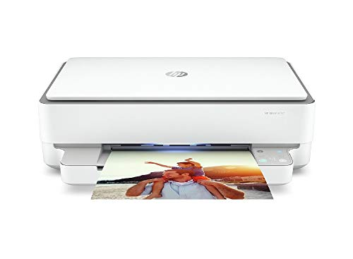 HP Envy 6032 5SE19B Stampante Fotografica Multifunzione A4, Stampa, Scansiona, Fotocopia, Wi-Fi Dual Band, HP Smart, Stampa Fronte Retro Automatica, 5 Mesi Instant Ink Inclusi, Grigia