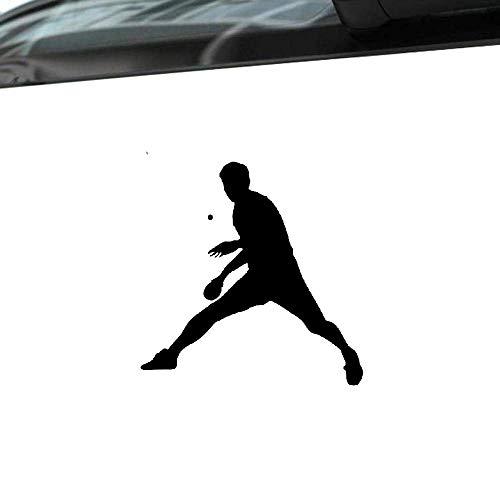 Mode Auto Aufkleber Lustige Tischtennis Sport Automobile Zubehör PVC Aufkleber für Peugeot 308 Kia Rio Hyundai, 13cm * 13cm