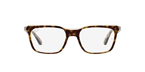 Ray-Ban 0RX5391 Gafas, HAVANA ON TRANSPARENT, 51 Unisex Adulto