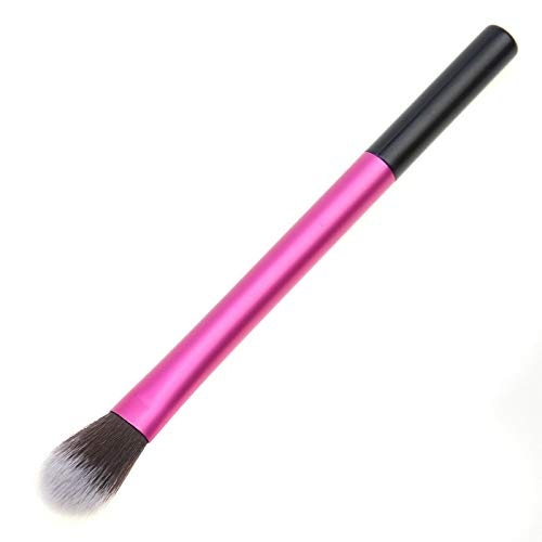 Beau Une seule petite brosse de maquillage rose brillant brosse ombre à paupières lumineux Pour les femmes (Color : Pink)