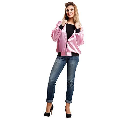 My Other Me - Dames Pink Lady voor kostuum, M-L (viving Costumes 203358)